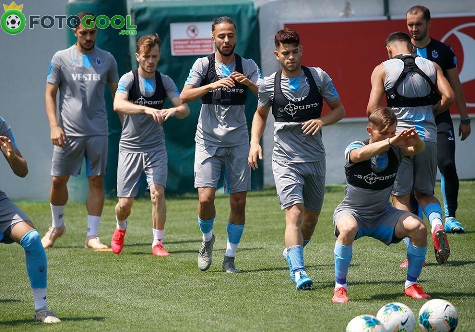 Trabzonspor , MKE Ankaragücü hazırlıklarına başladı.