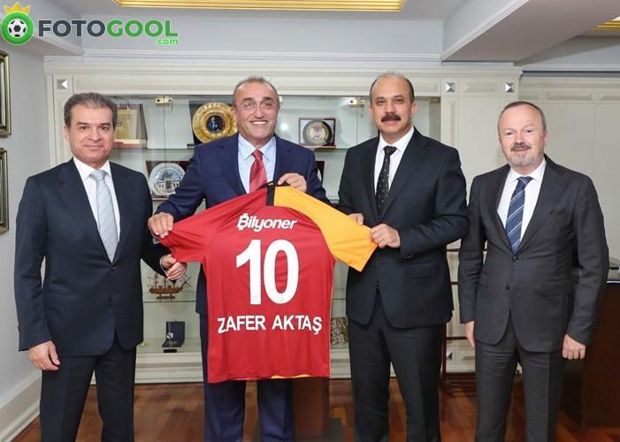 Galatasaray'dan Aktaş'a ziyaret