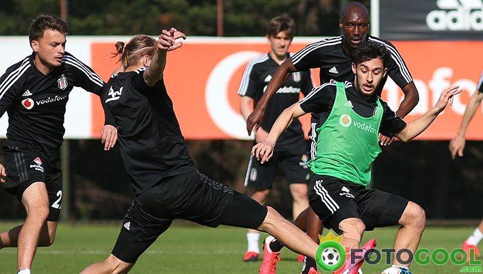 Beşiktaş maç provası yapıyor