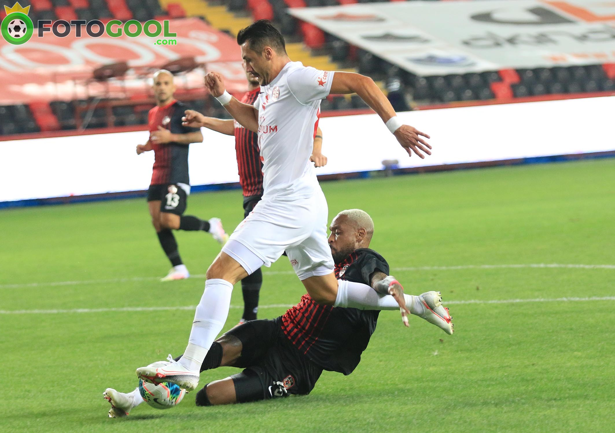Antalya'ya Antep engeli 1-1