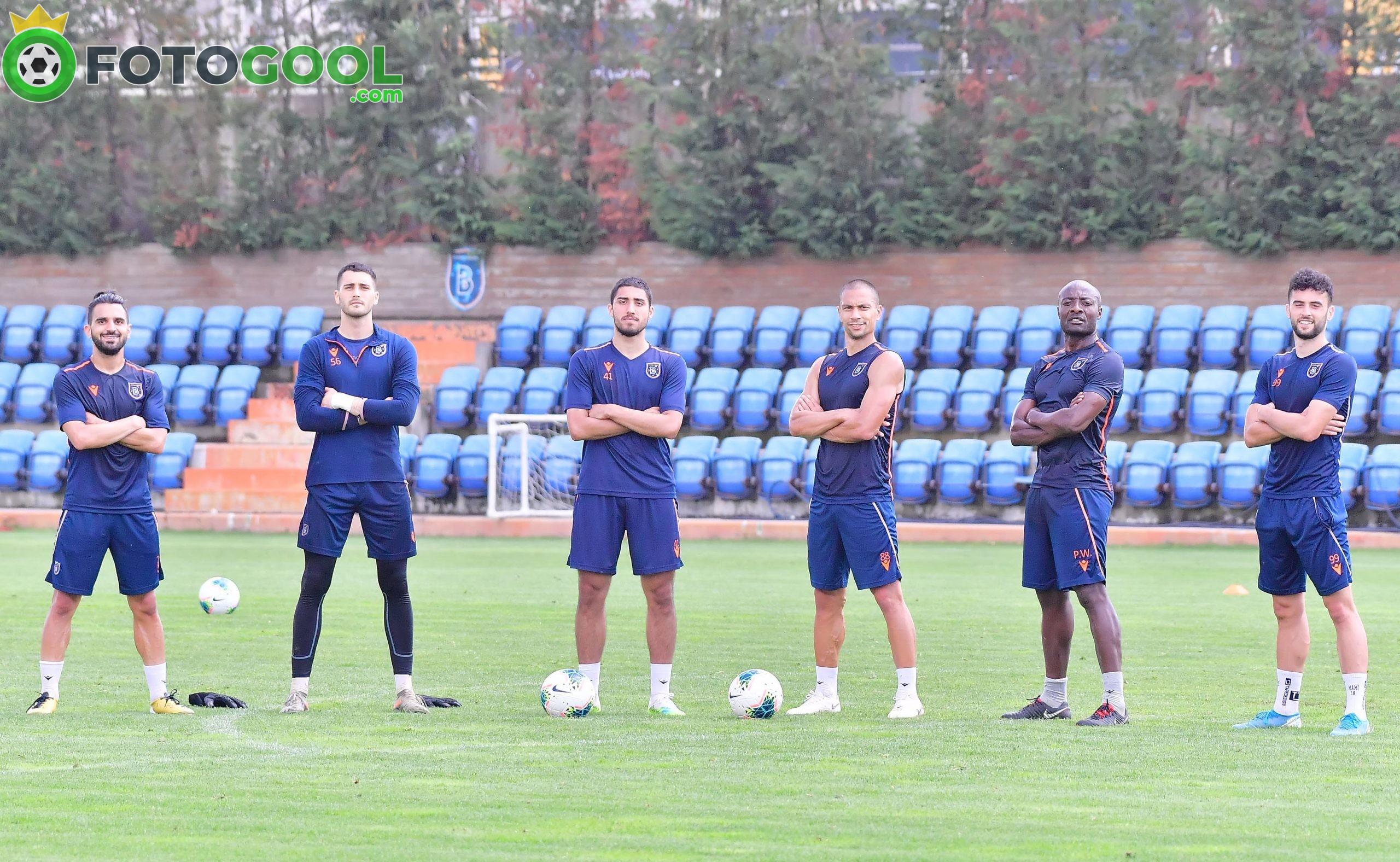 Başakşehir, Galatasaray maçının hazırlıklarına başladı