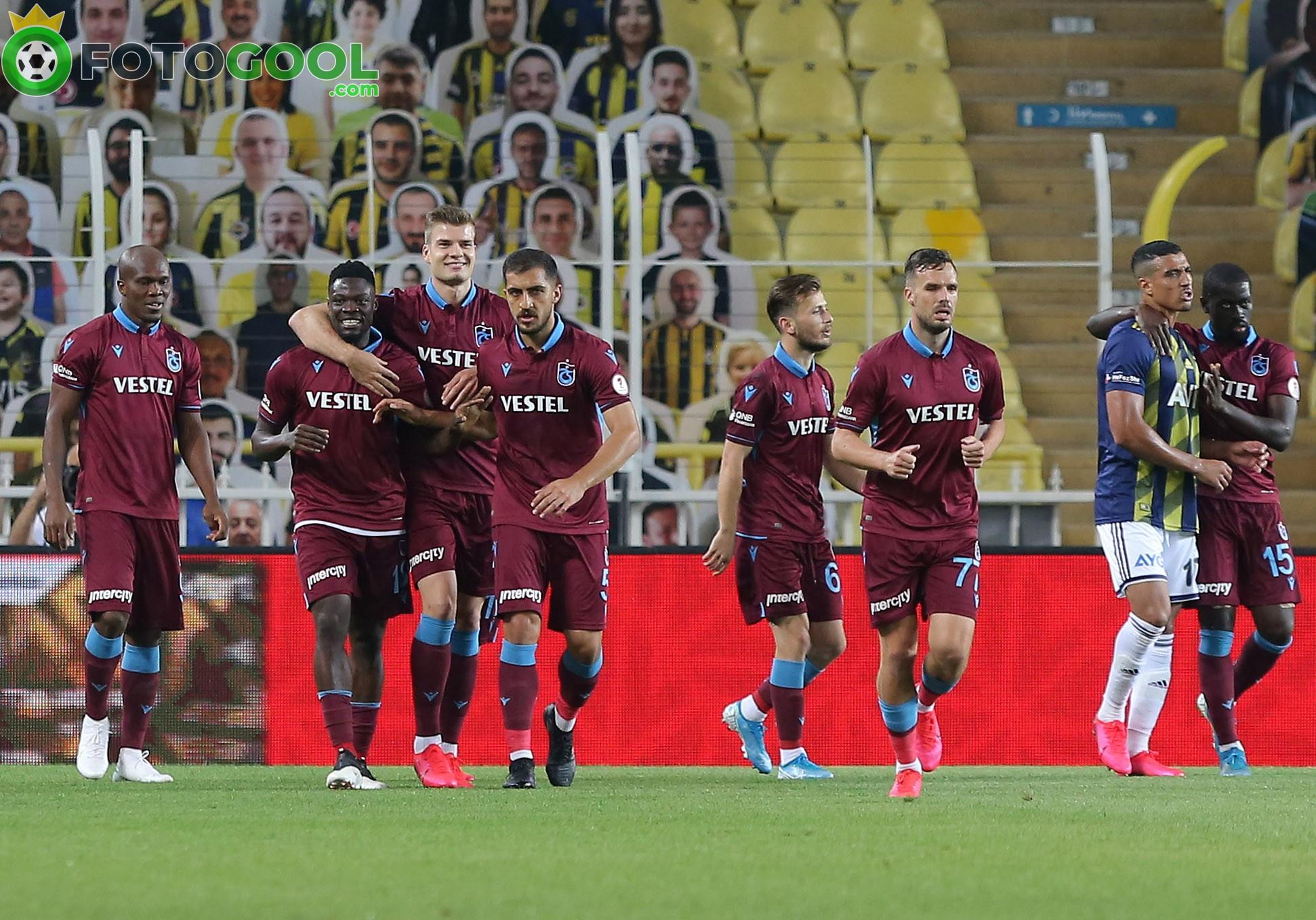 İlk finalist Trabzonspor. 1-3