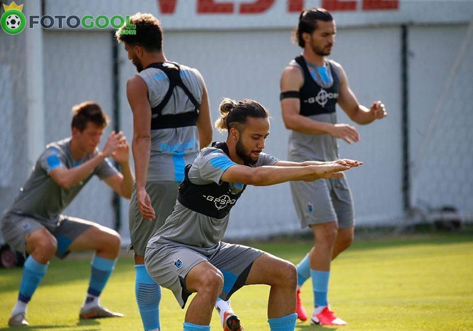 Trabzonspor , Galatasaray maçının taktiğini çalıştı