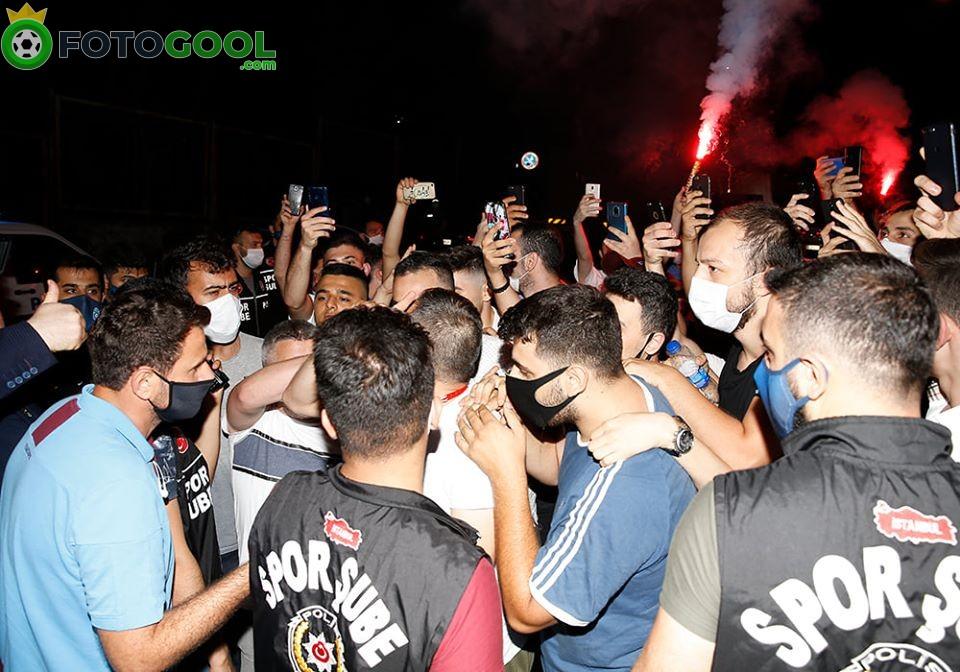 İstanbul'da Trabzon'a çoşkulu karşılama