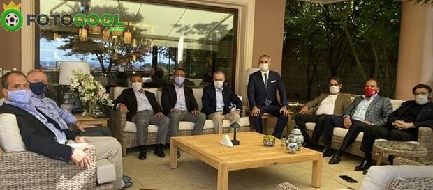 Mustafa Cengiz'e Kulüpler Birliği'nden ziyaret