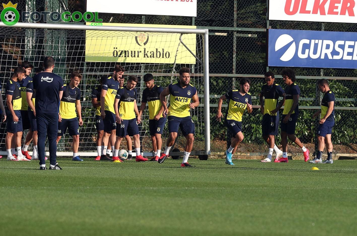Fenerbahçe Göztepe hazırlanıyor