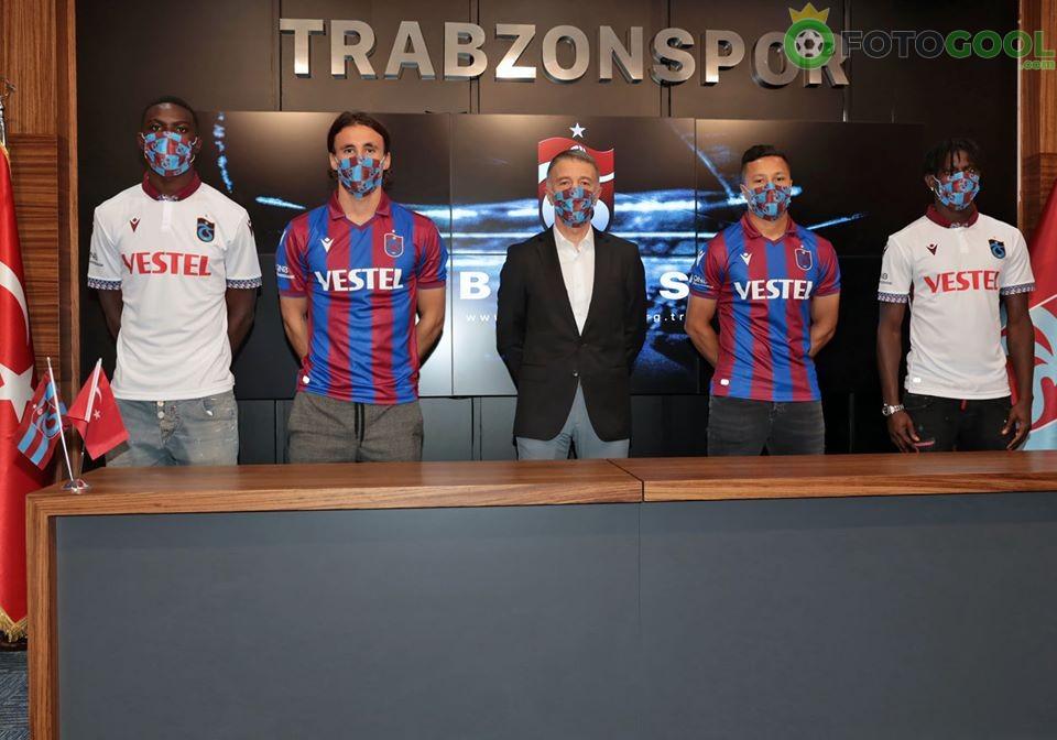 Trabzonspor'dan Gövde gösterisi