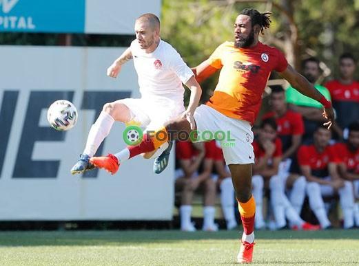 Galatasaray'dan iyi prova 2-0