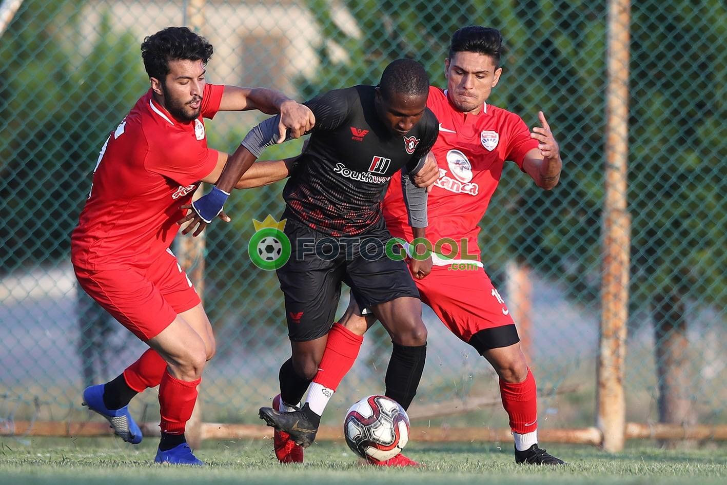 Silivrispor'un hazırlık maçı yarıda kaldı