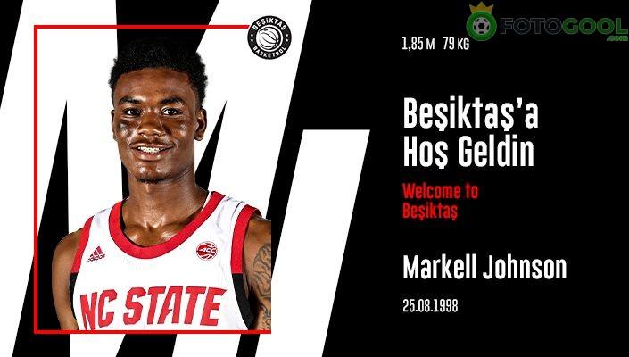 Markell Johnson Beşiktaş'ta