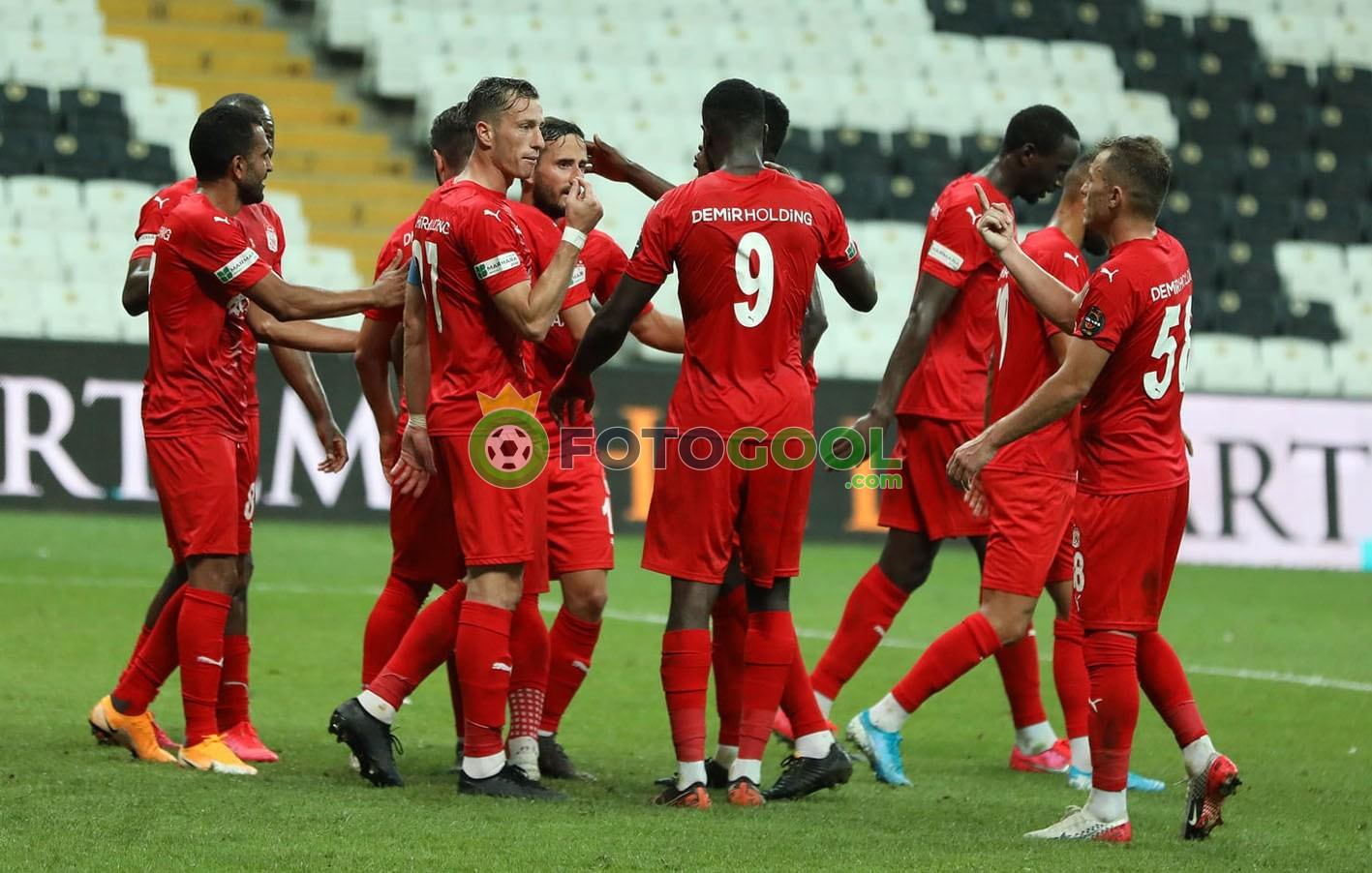 Sivasspor son dakikada finalde 1-0