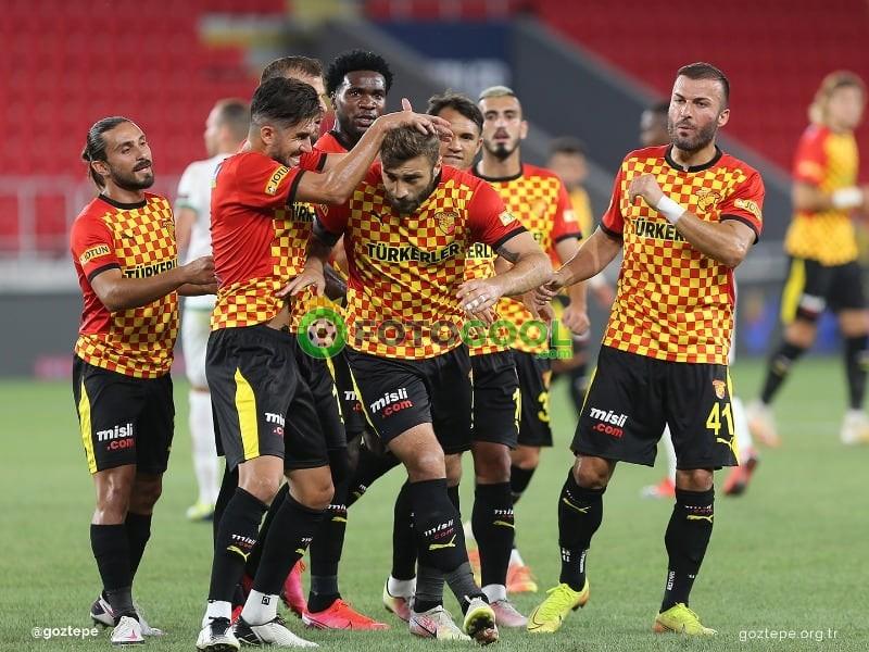 Göztepe gol oldu yağdı 5-1