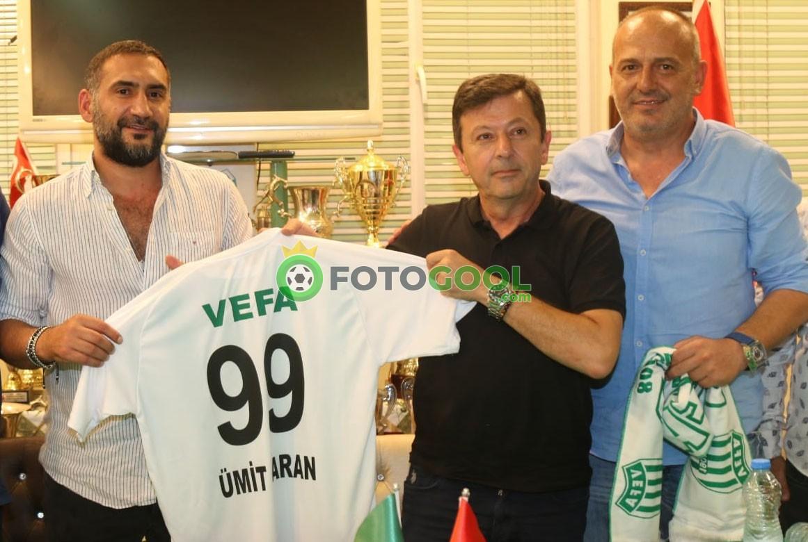 Ümit Karan Vefa'da futbola geri döndü