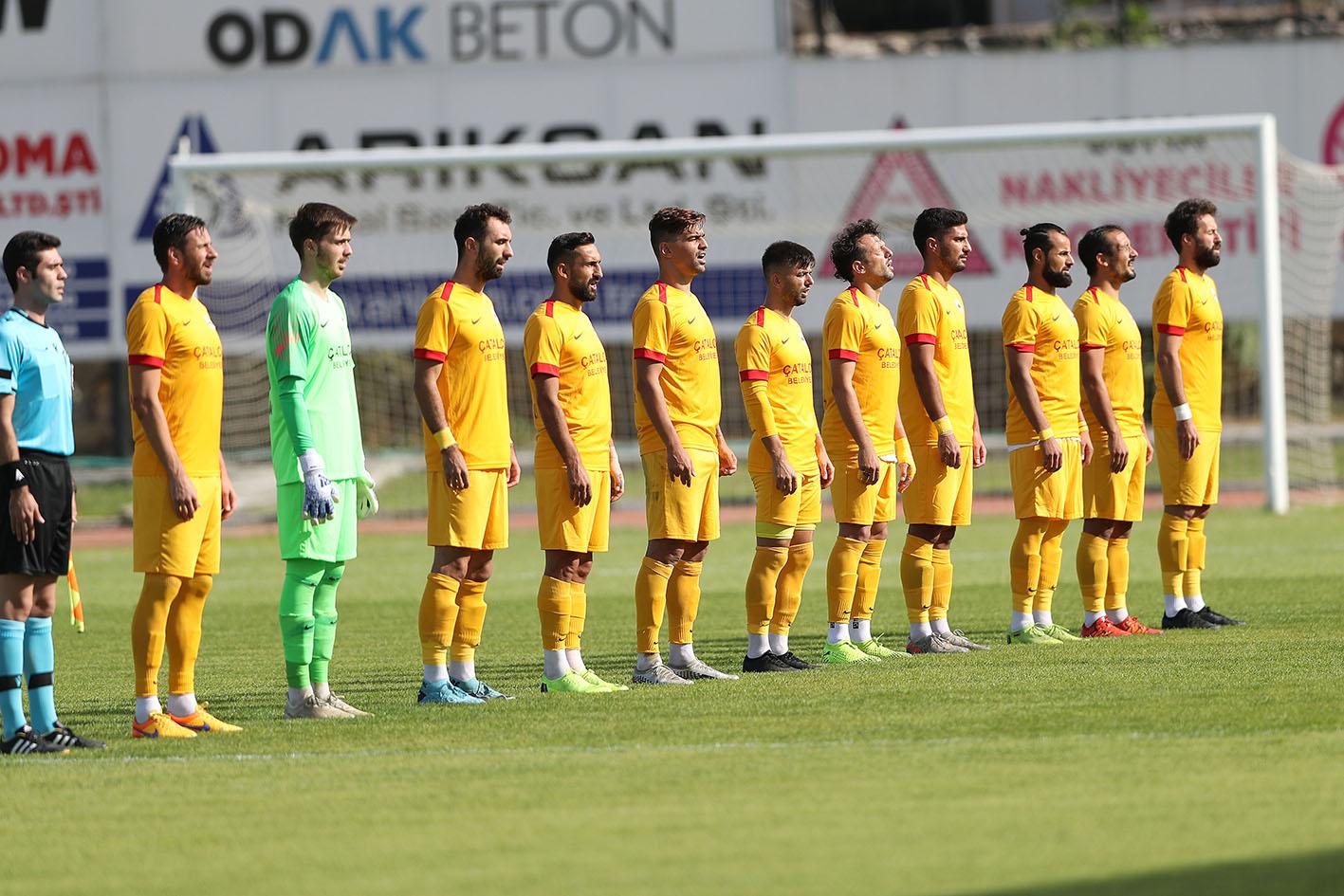 Çatalcaspor'a Nazarlık mağlubiyet. 3-0