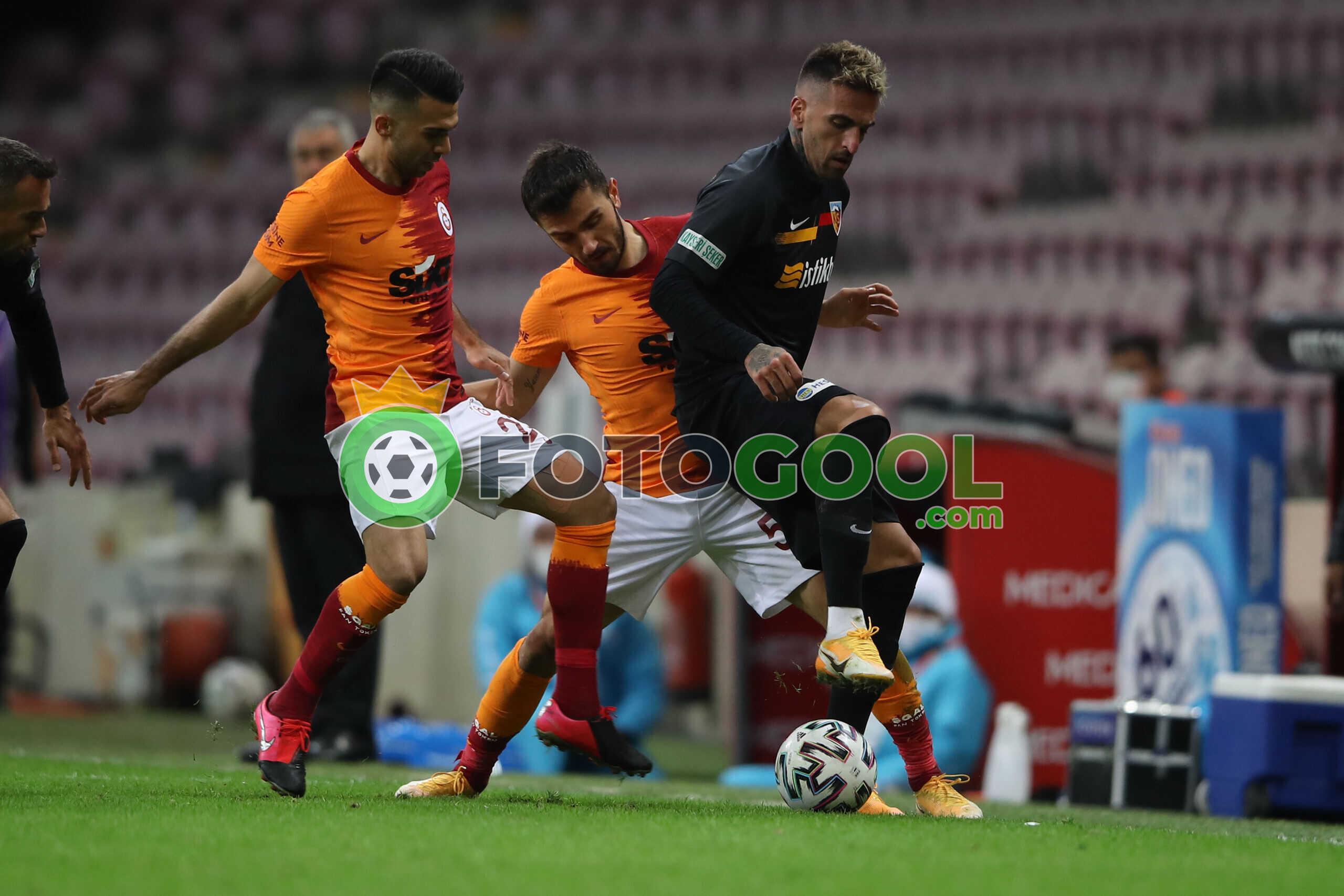 Galatasaray'a Kayseri engeli 1-1