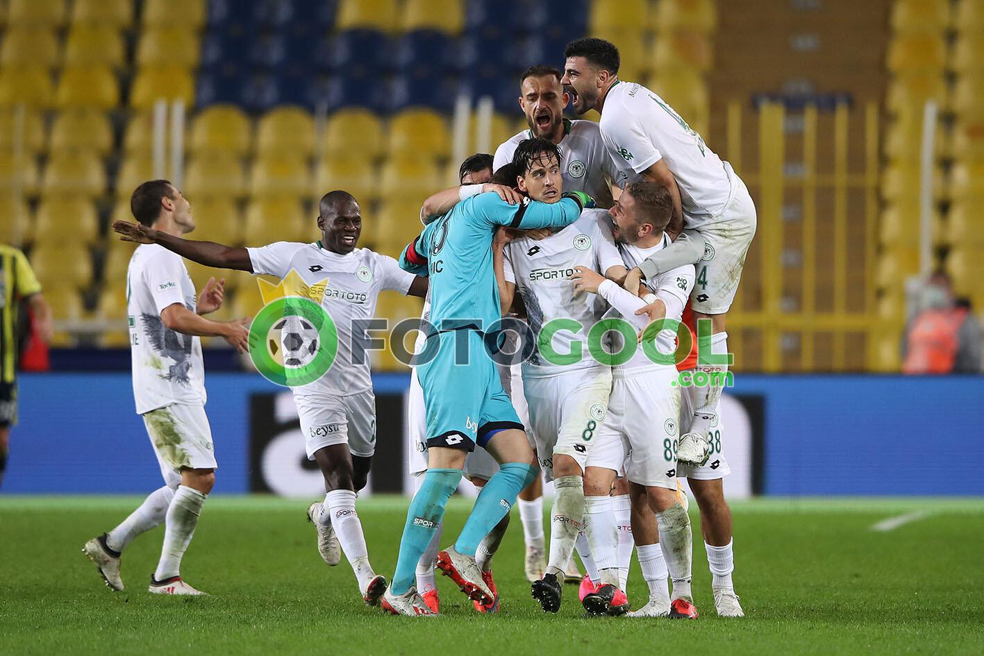 Fenerbahçe'ye konya sürprizi 0-2