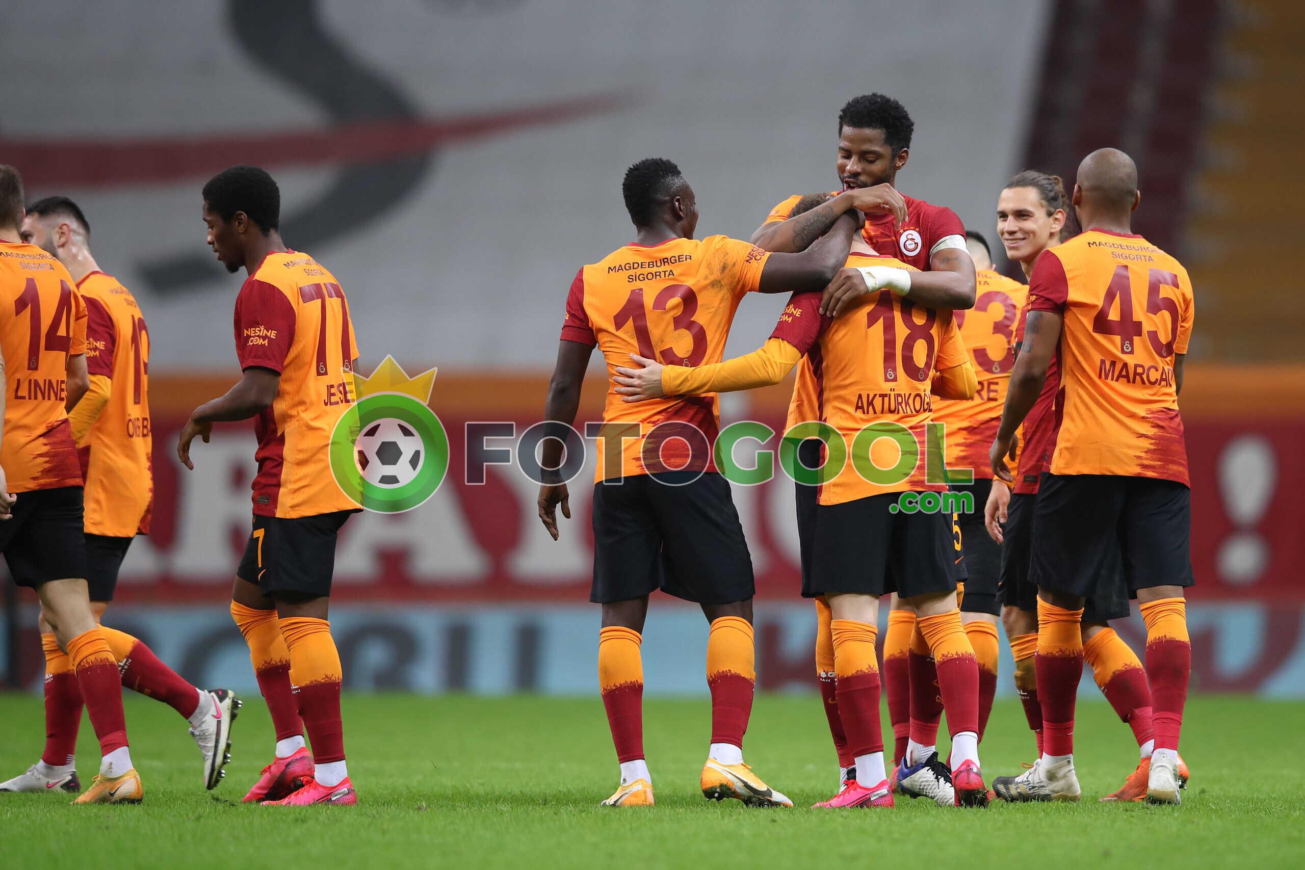 Galatasaray bay öncesi moral buldu. 3-0