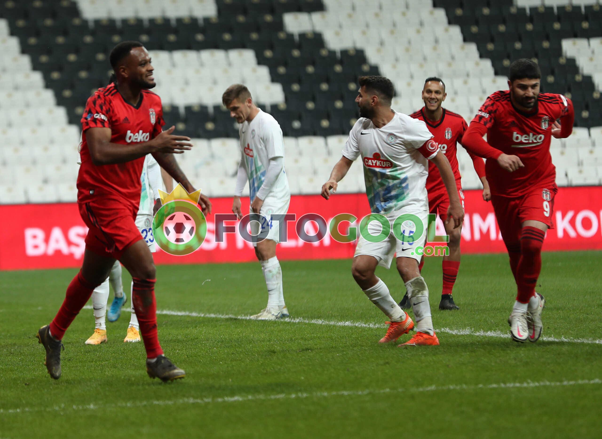 Beşiktaş Çeyrek finalde 1-0