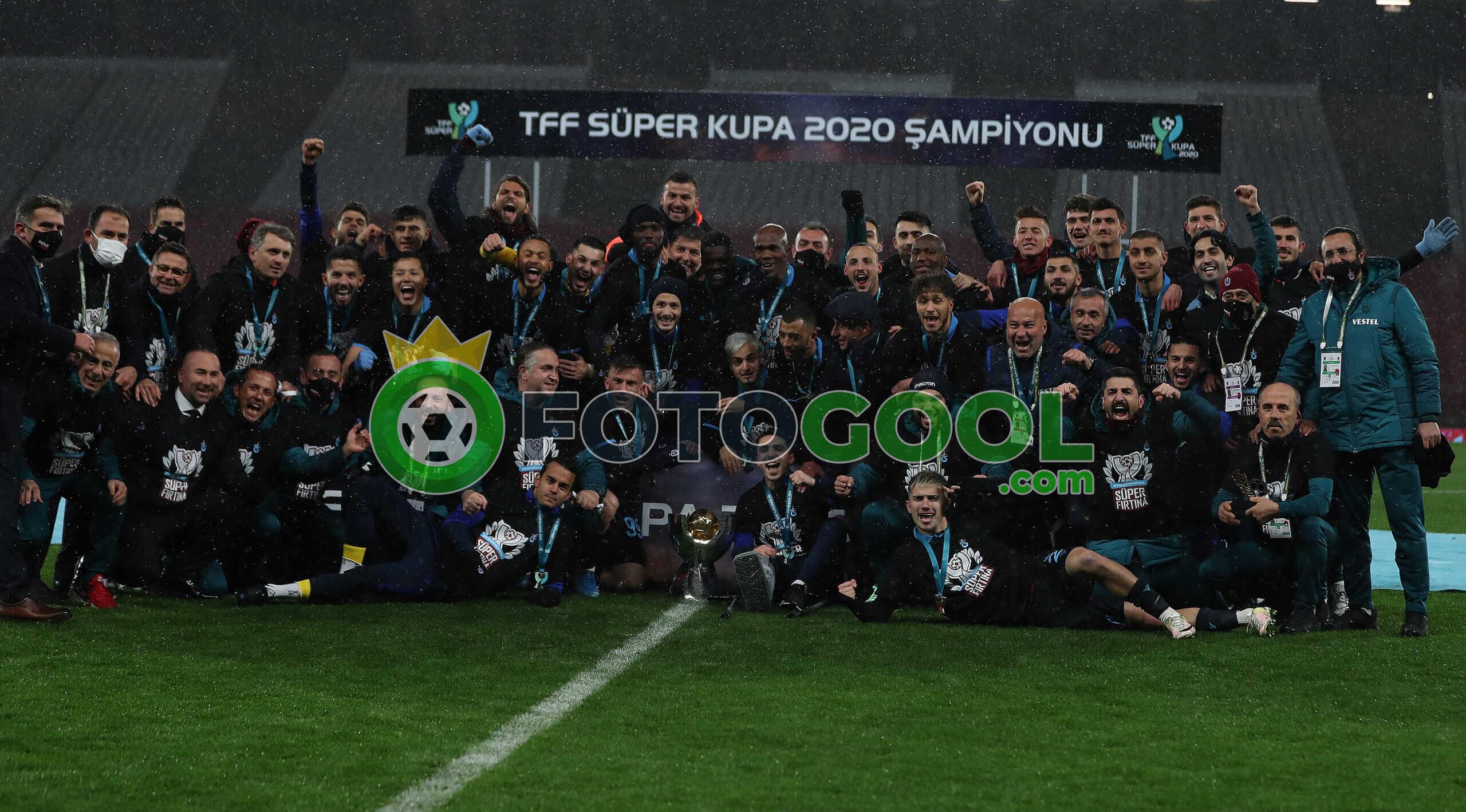 Trabzon Süper kupanın sahibi  2-1