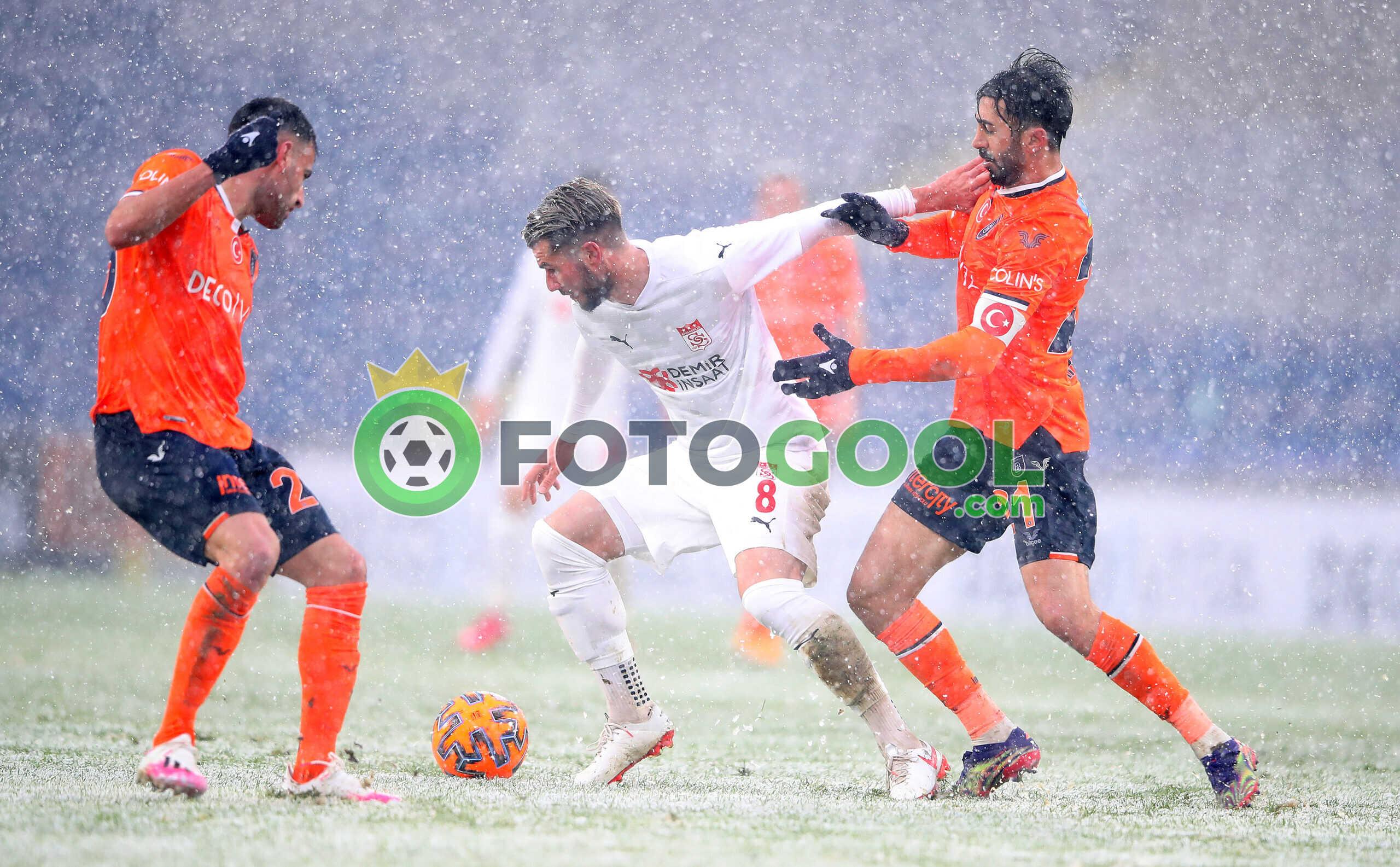 Başakşehir,  Sivasspor puanları paylaştılar 1-1