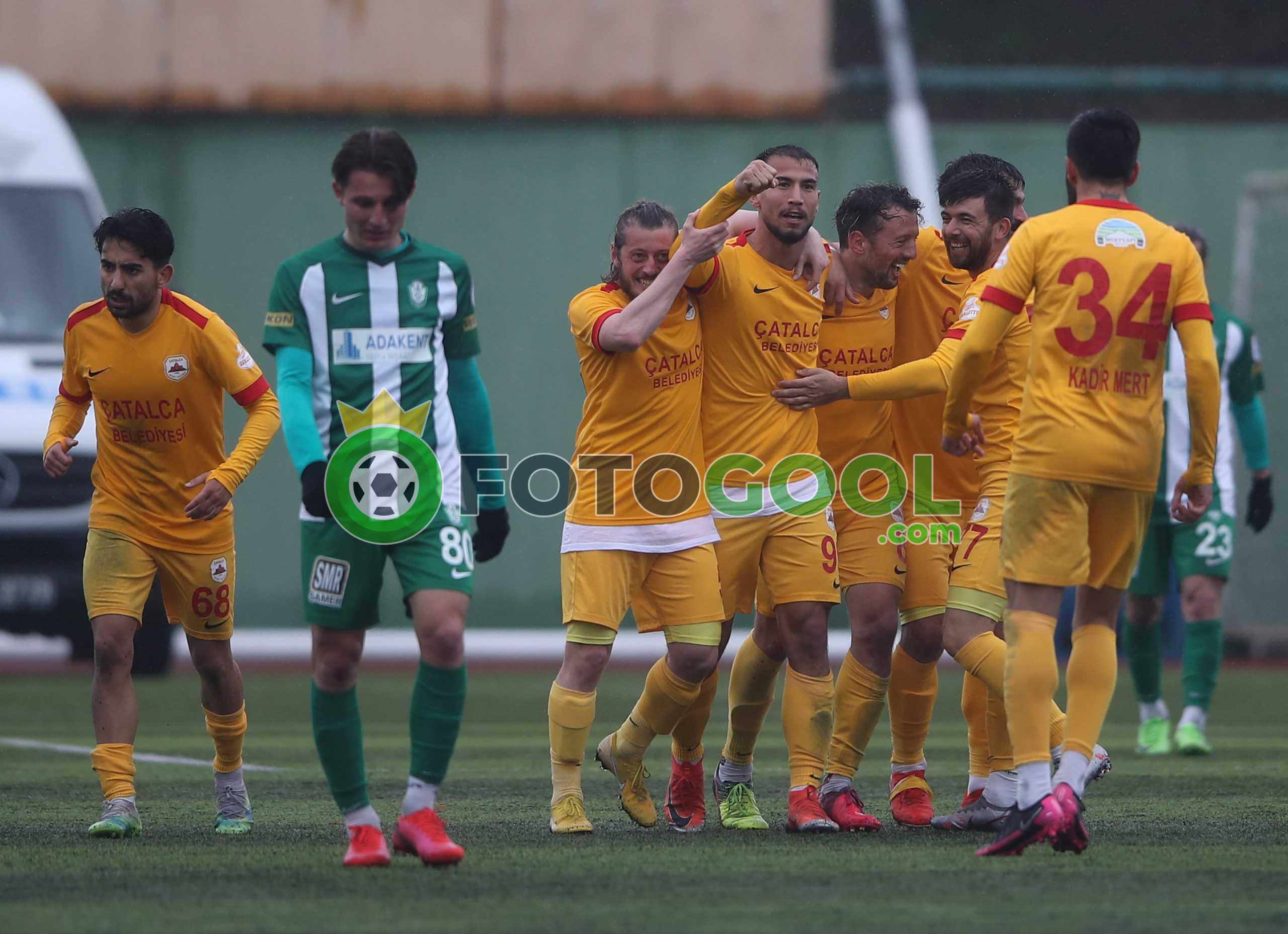 Çatalcaspor galibiyeti hatırladı. 1-0
