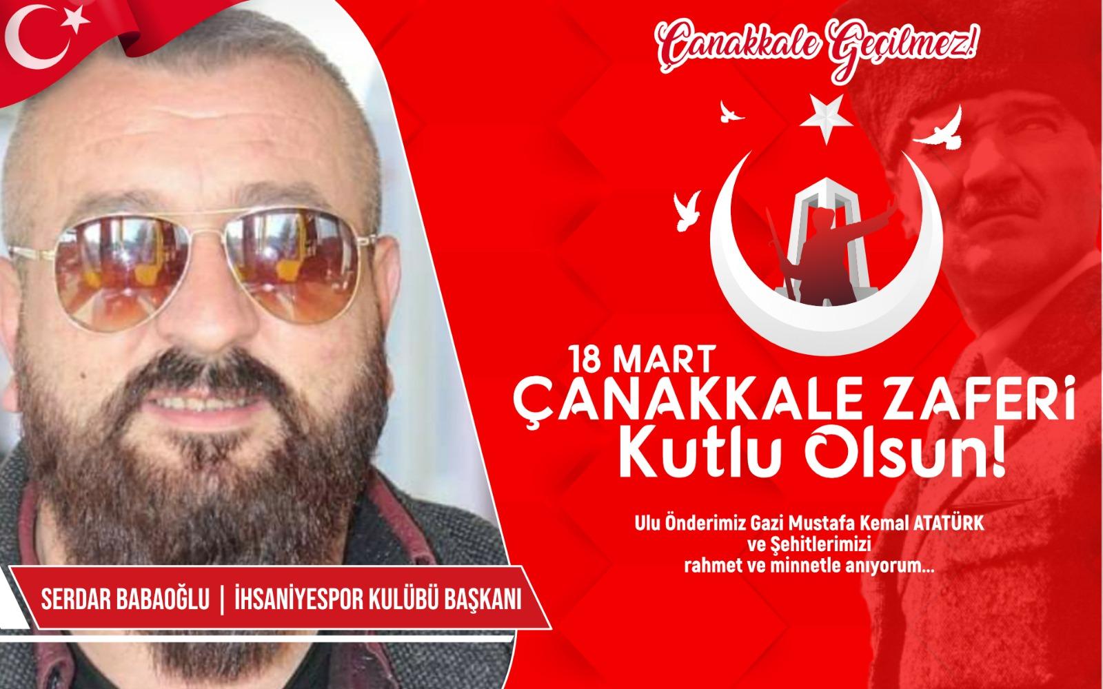 Serdar Babaoğlun'dan kutlama ve anma mesajı