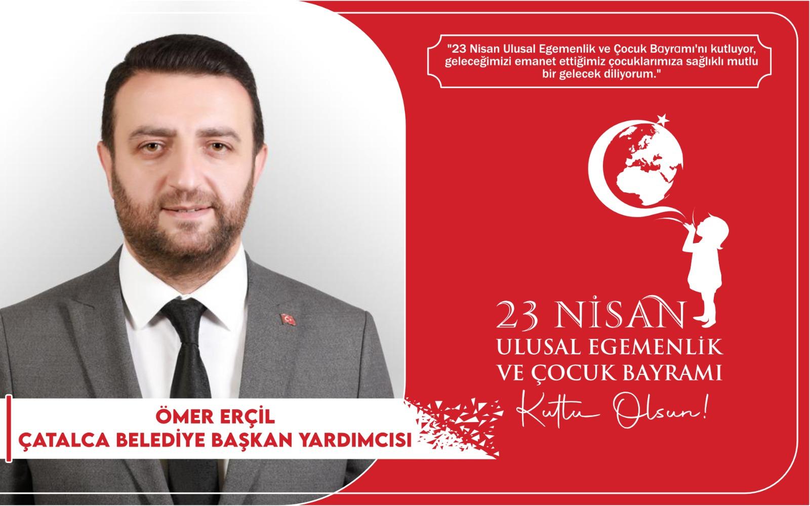 Ömer Erçin'den kutlama ilanı