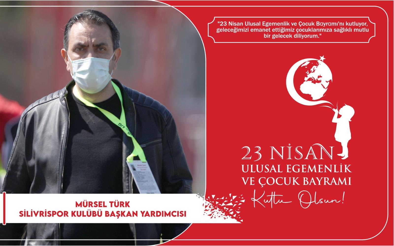Mürsel Türk'ten Kutlama Mesajı