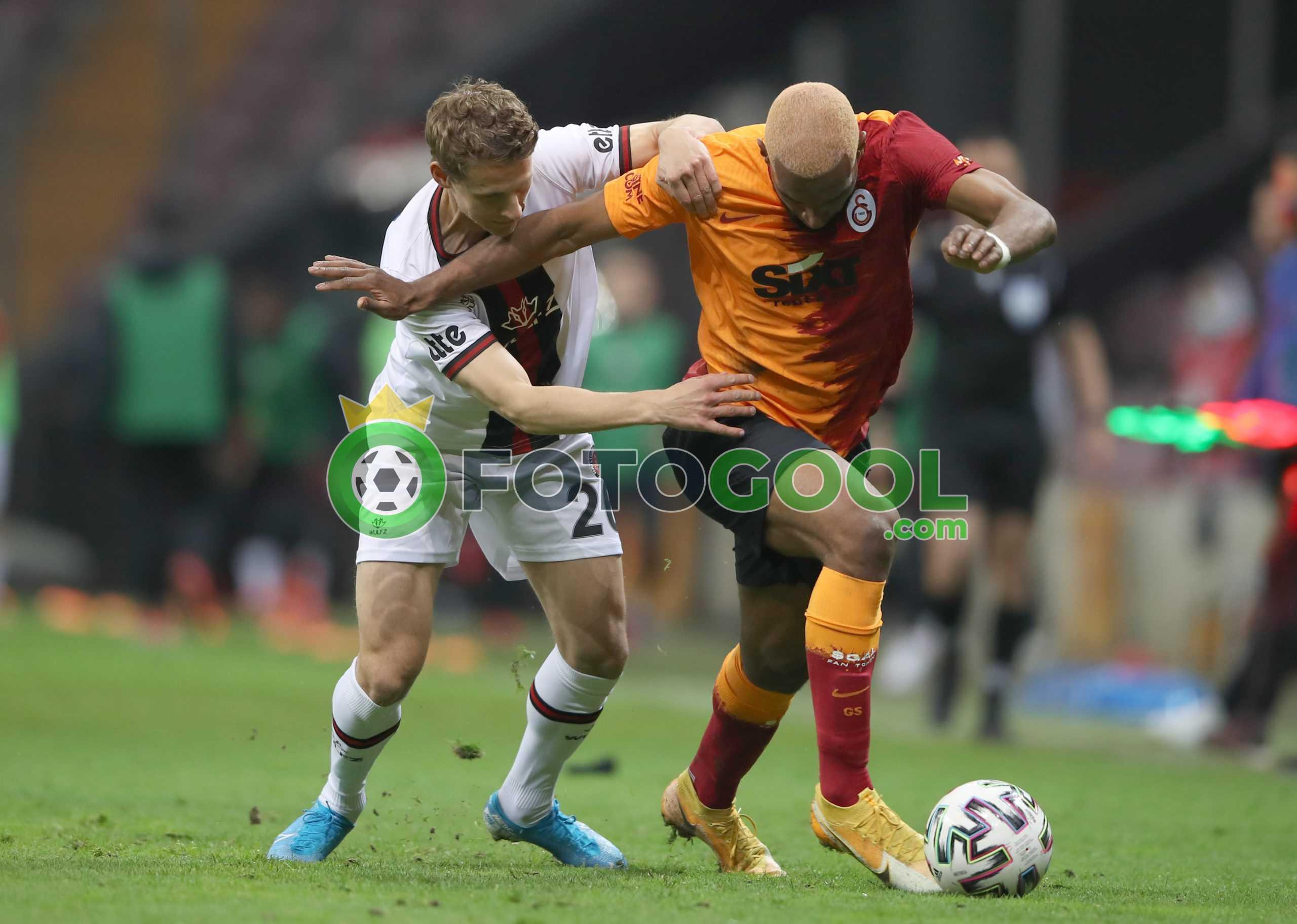 Galatasaray'a bir darbede Karagümrük'ten 1-1