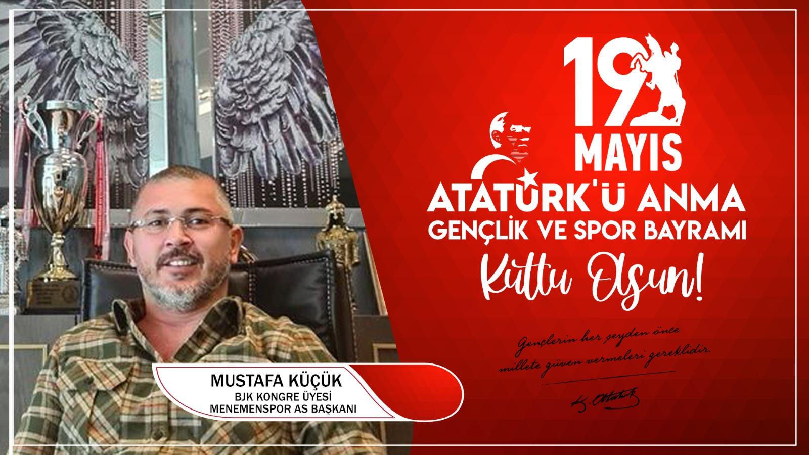 Mustafa Küçük'ten Kutlama Mesajı