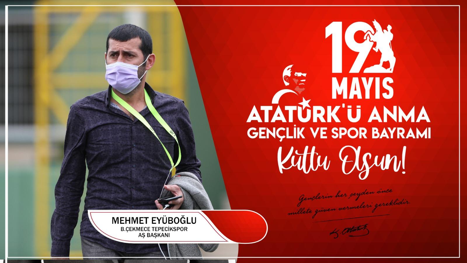 Mehmet Eyüboğlu'ndan Kutlama Mesajı