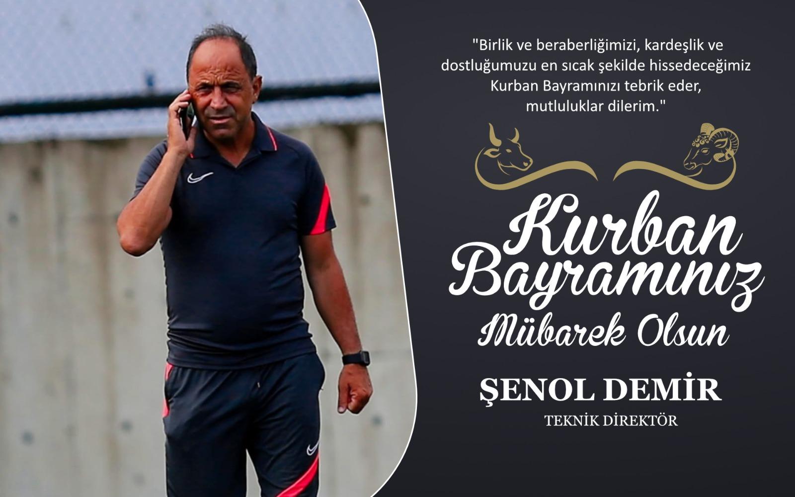 Şenol Demir'den Kurban Bayramı Kutlama Mesajı