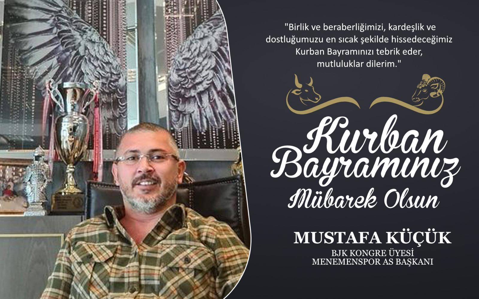 Mustafa Küçük'ten Kurban Bayramı Kutlama Mesajı