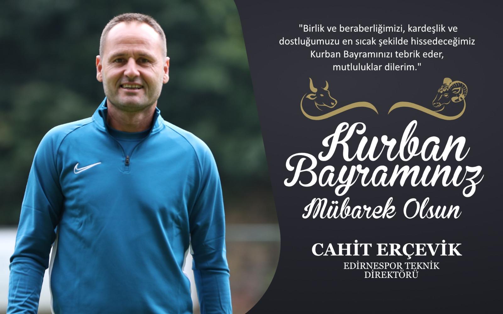 Cahit Erçevik'ten Kurban Bayramı Kutlama Mesajı