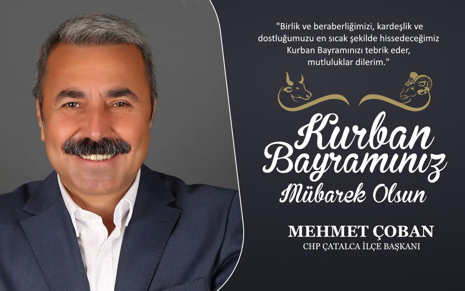 Mehmet Çoban'dan Kurban Bayramı Kutlama Mesajı