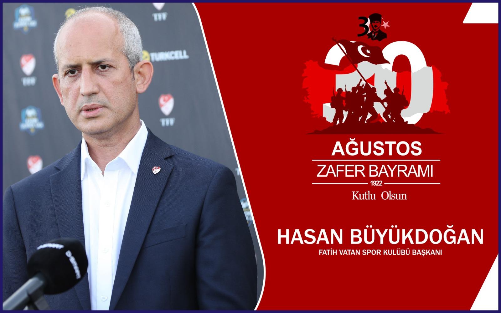 Hasan Büyükdoğan'dan Kutlama Mesajı