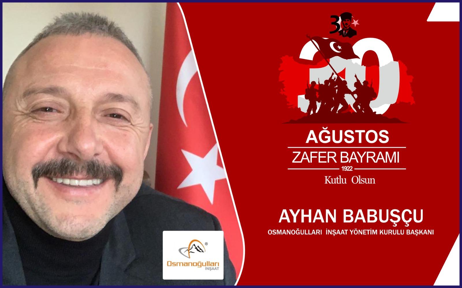 Ayhan Babuşcu'dan Kutlama Mesajı