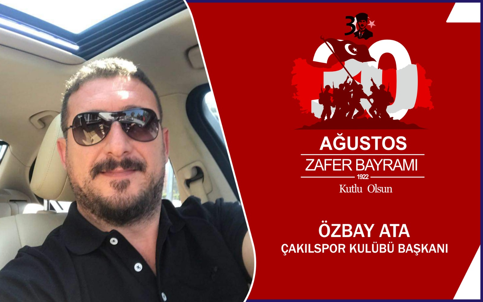 Özbay Ata'dan Kutlama Mesajı