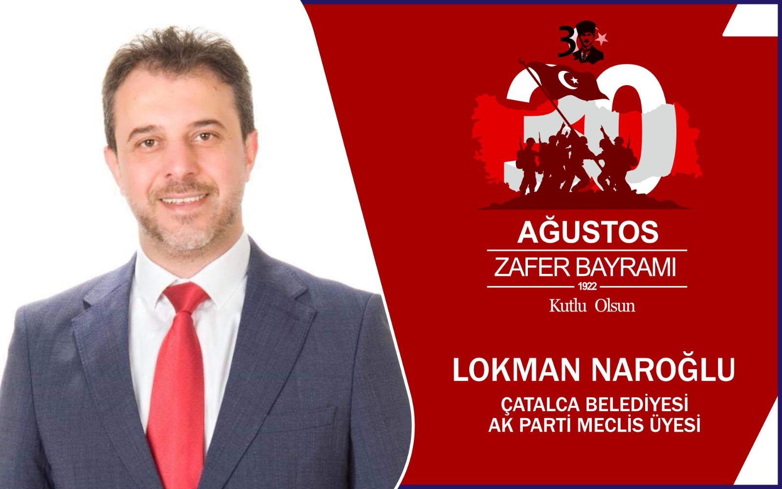 Lokman Naroğlun'dan Kutlama Mesajı