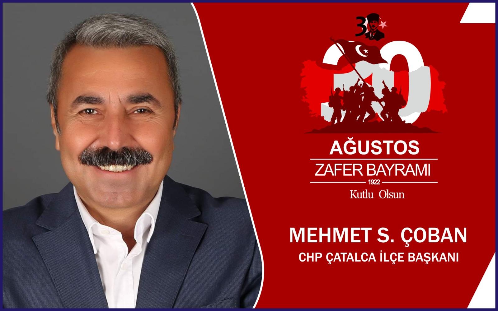 Mehmet Çoban'dan Kutlama Mesajı