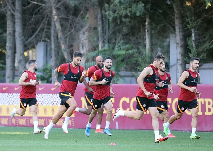Galatasaray, Trabzon maçının hazırlıklarına başladı