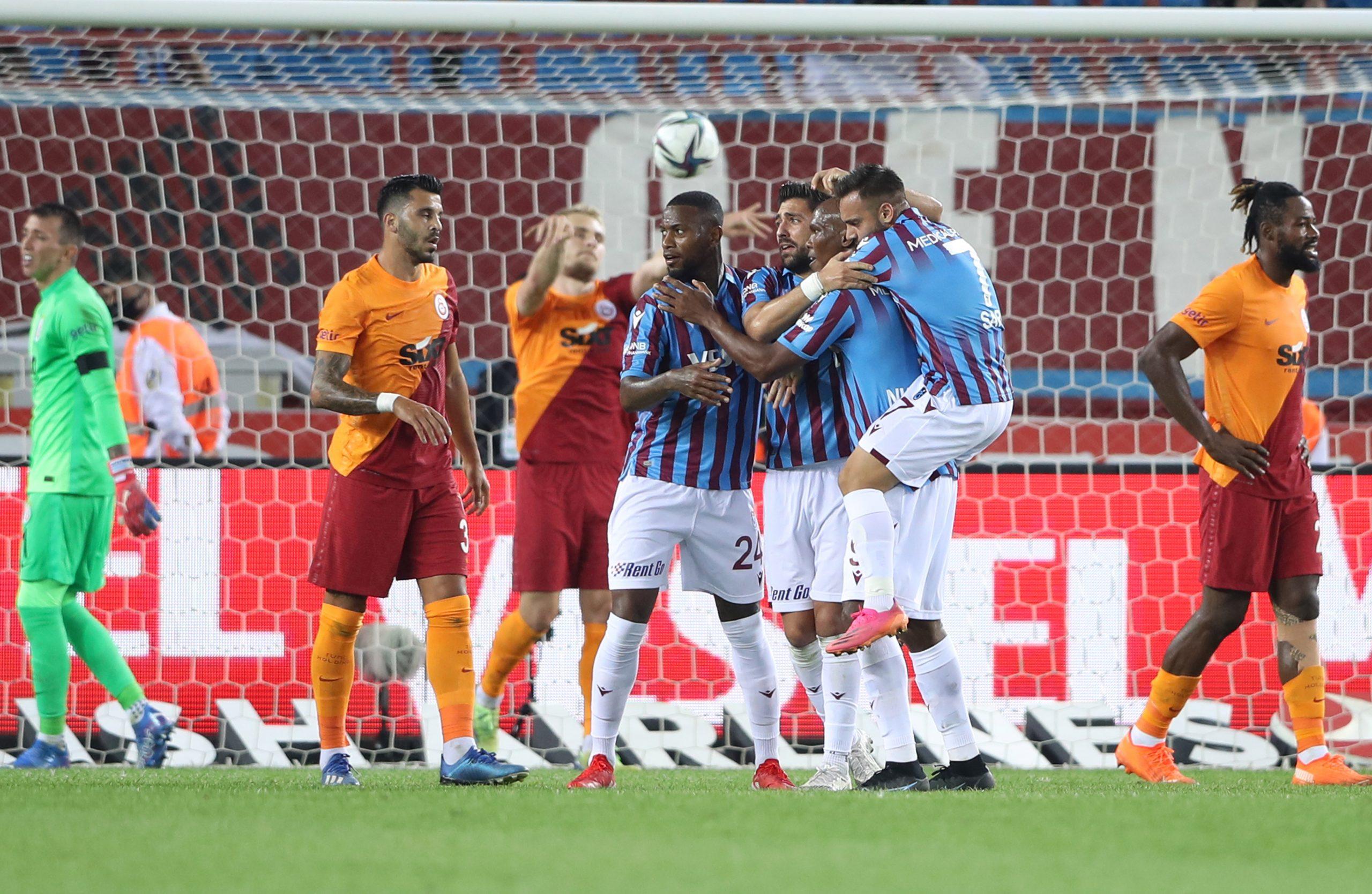 Trabzonspor ilk puan kaybını yaşadı