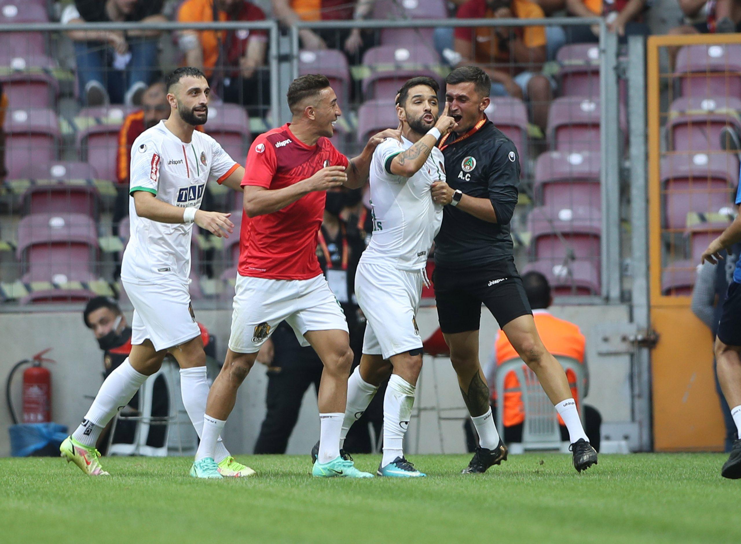Galatasaray'a Alanya Sürprizi 0-1