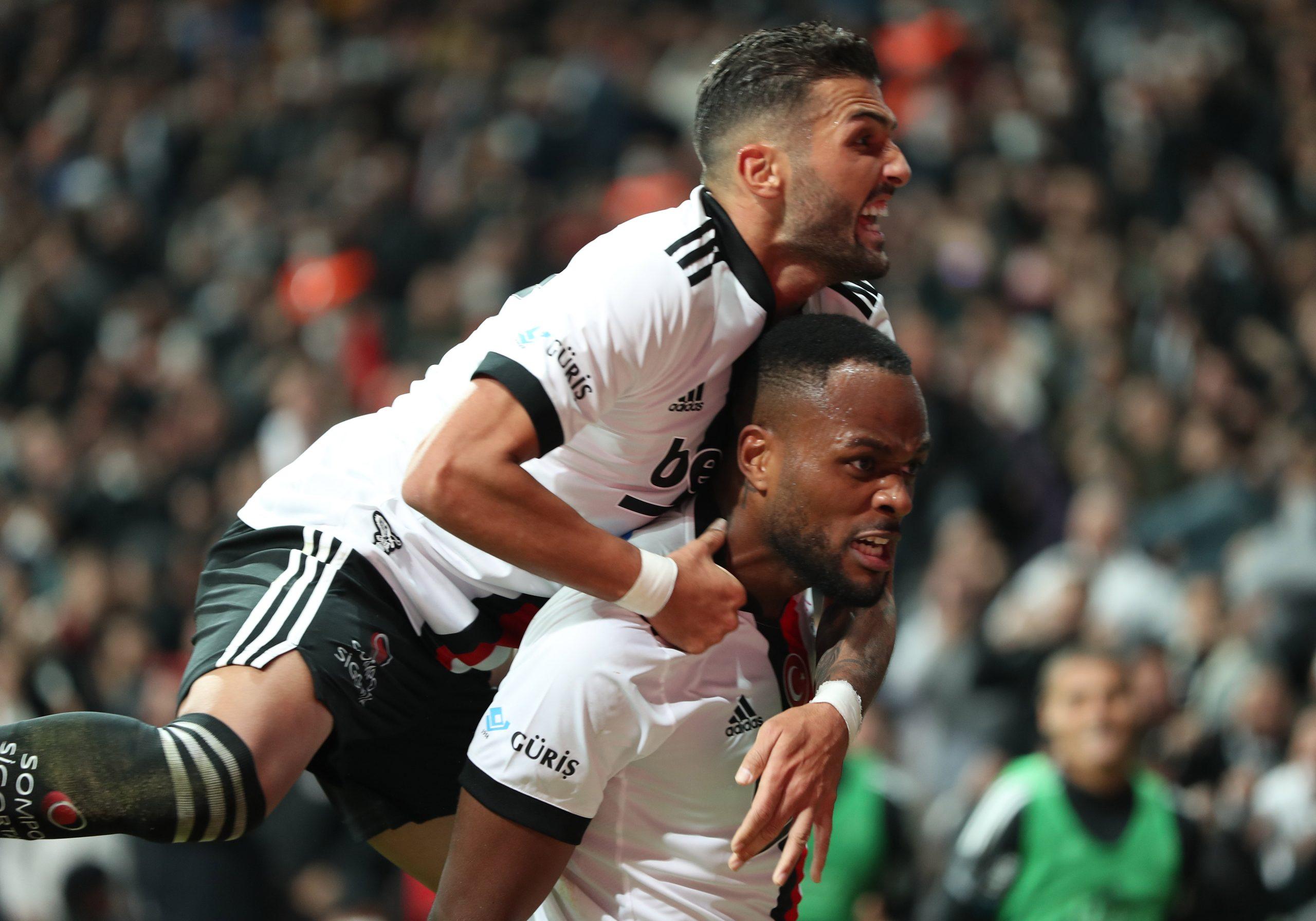 Derbinin galibi Beşiktaş oldu 2-1