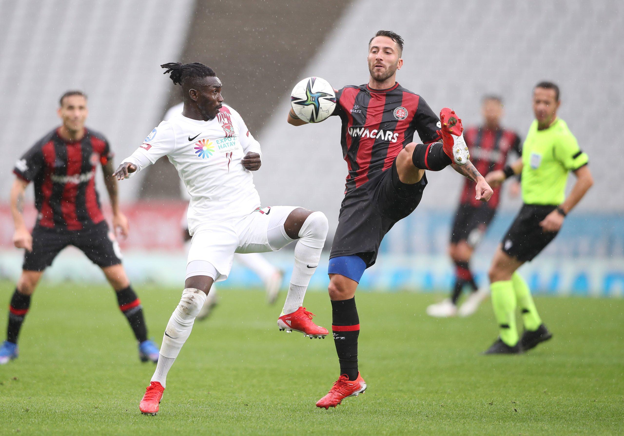 Önemli maçtan beraberlik çıktı 1-1
